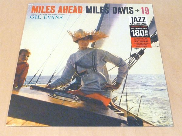 マイルス・デイヴィスMiles Ahead限定リマスター180g重量盤LP未開封Miles Davis+19 Gil Evans美女ジャケFontana_未開封限定リマスター180g重量盤LP
