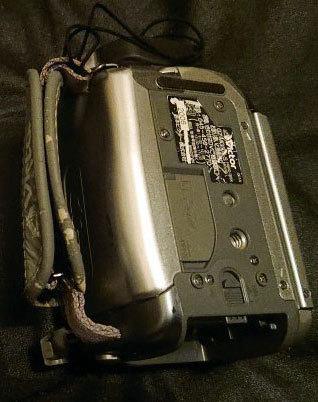 Victor Evrio GZ-MG505-S 30GB ビクター DVDビデオカメラ エブリオ シルバー_画像6