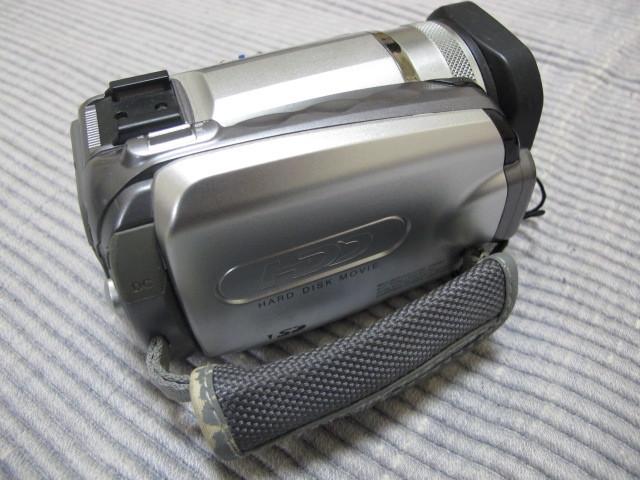 Victor Evrio GZ-MG505-S 30GB ビクター DVDビデオカメラ エブリオ シルバー_画像3