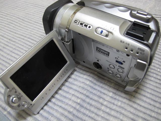 Victor Evrio GZ-MG505-S 30GB ビクター DVDビデオカメラ エブリオ シルバー_画像4