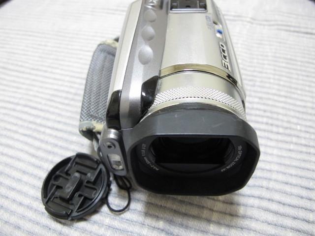 Victor Evrio GZ-MG505-S 30GB ビクター DVDビデオカメラ エブリオ シルバー_画像5