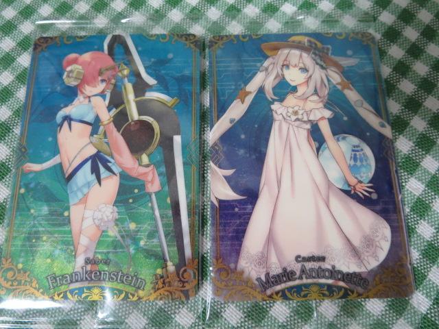 Fate Grand Order ウエハース4 R17 マリー・アントワネット&R13フランケンシュタイン_画像1