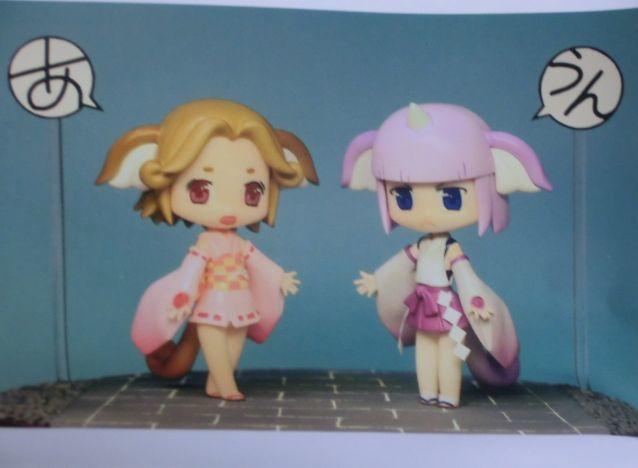 マルバツ神社の狛犬さん SDレジンキット オリジナルキャラクター 美少女 アニメ フィギュア 人形 ドール_画像1