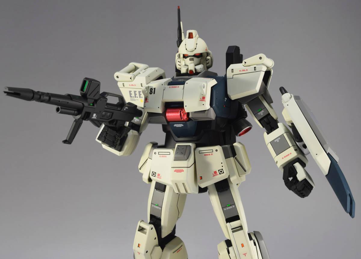 MG 1/100『 RX-79[G] ガンダム Ez8 』完成品 機動戦士ガンダム Ez8 08MS小隊 陸戦型ガンダム_画像7