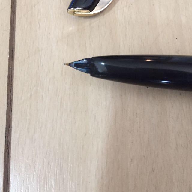 古い万年筆 PLATINUM プラチナ★ペン先18K 18金 事務用品 筆記用具_画像3