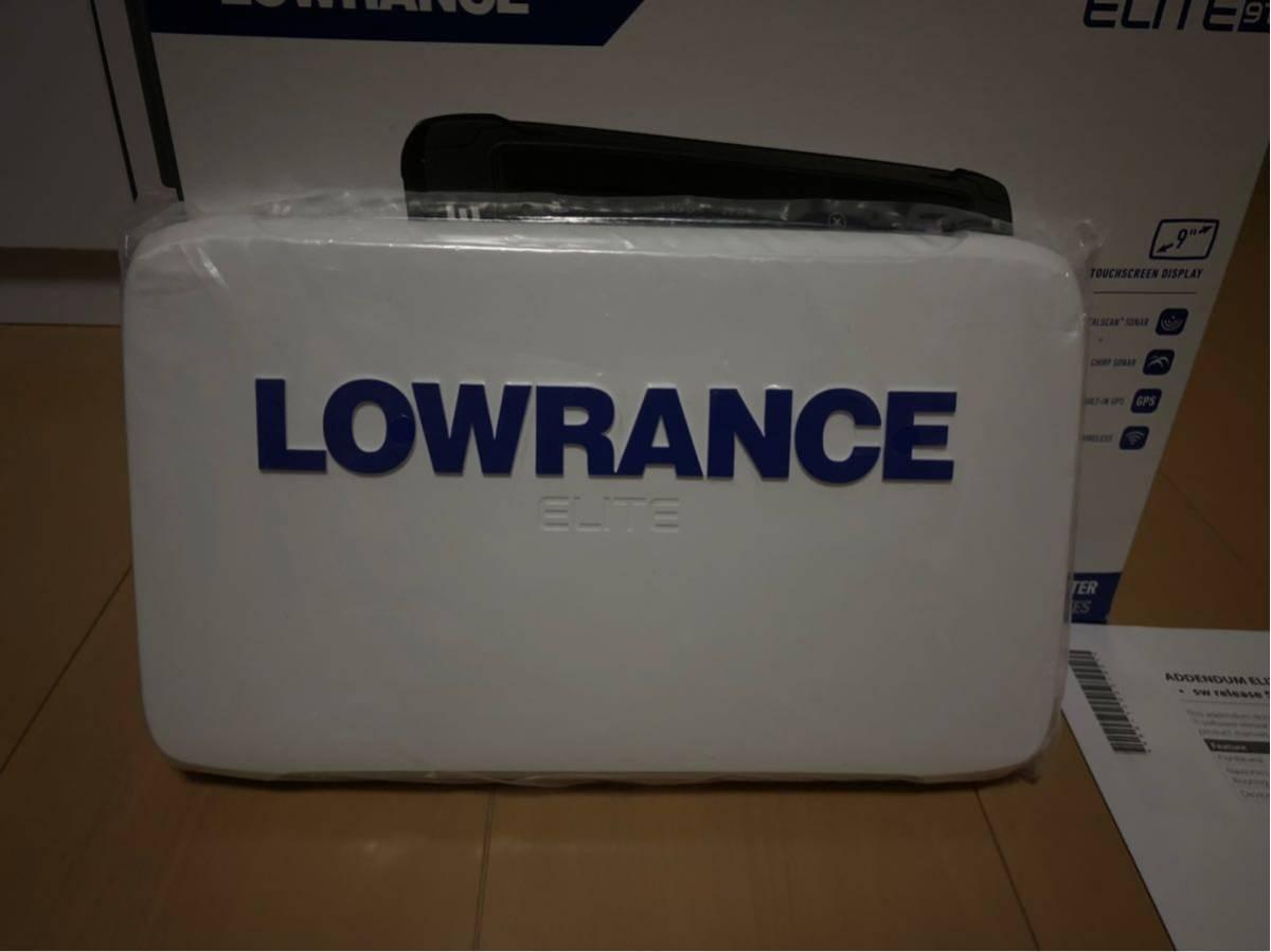 未使用 保管 【ローランス】 LOWRANCE エリート 9ti トータルスキャン 日本語版 魚群探知機 全国 湖沼図 付き_画像6