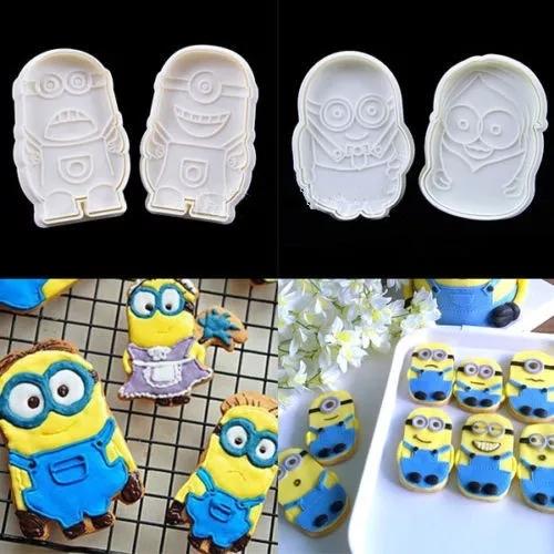 ミニオン クッキー型 4種セット_画像1