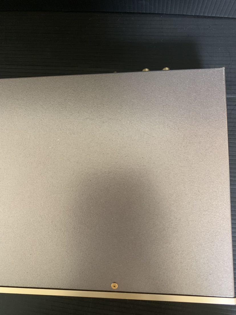 1000円~/希少/REQST/NS441D D/A CONVERTER/DAC-NS1M/レクスト/コンバーター/通電ライト点灯のみ動作未確認/部品取り用/ジャンク品扱い_画像4
