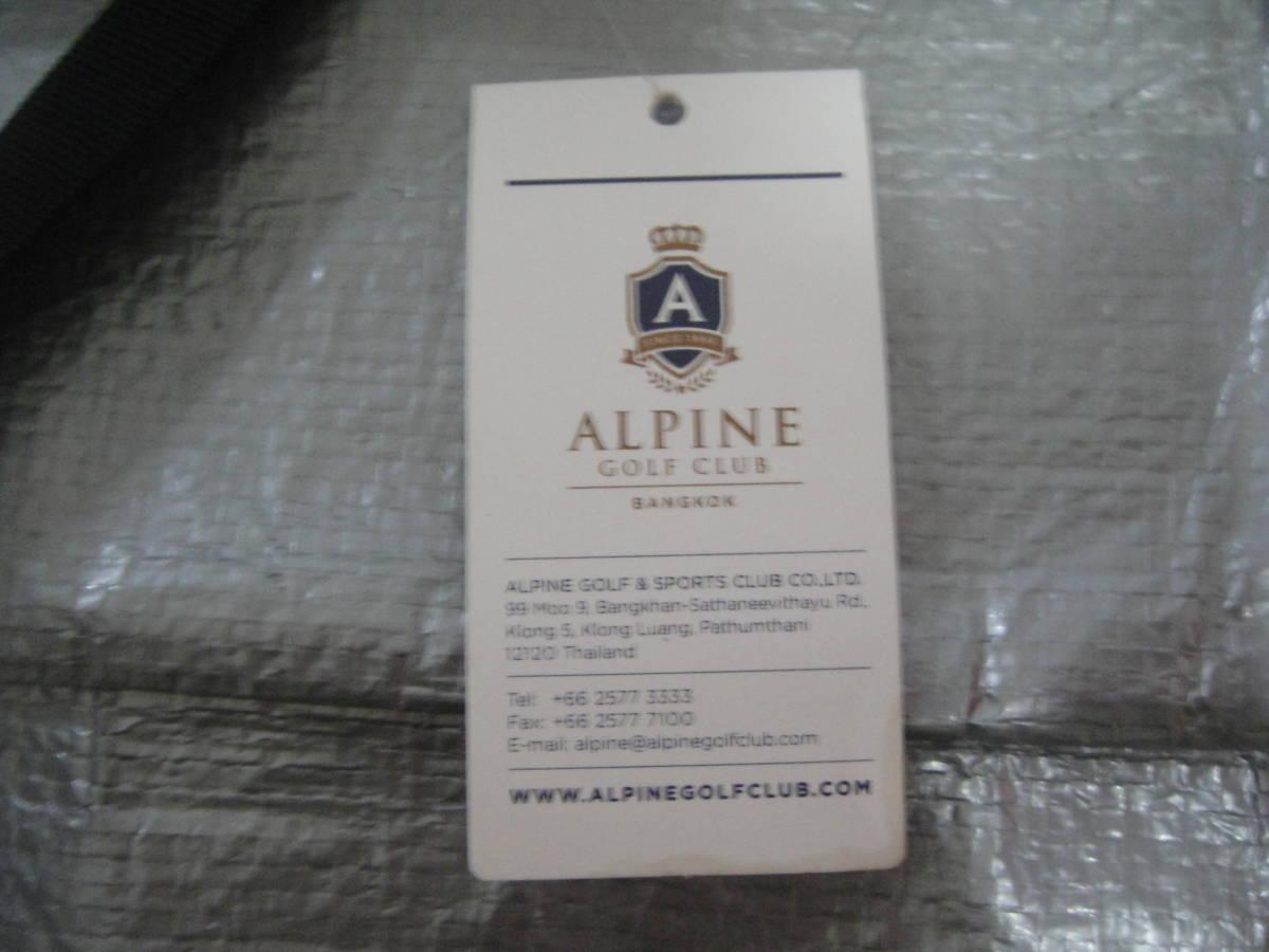 ALPINE GOLF CLUB/★<アルパインゴルフクラブ*キャディバッグ型*ラウンジバッグ>☆彡『未使用品・貴重品』_画像9