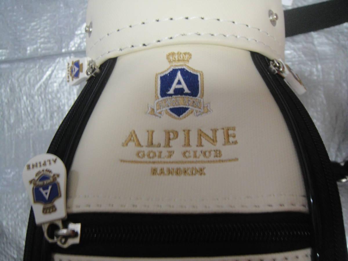ALPINE GOLF CLUB/★<アルパインゴルフクラブ*キャディバッグ型*ラウンジバッグ>☆彡『未使用品・貴重品』_画像4
