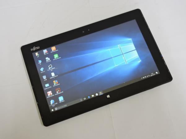 11.6型タブレット FMVQ702 Corei5 3427U 1.8GHz 4GB SSD 64GB Webカメラ Bluetooth HDMI 無線 Windows10 Office2007 新品バッテリー 美品_画像2