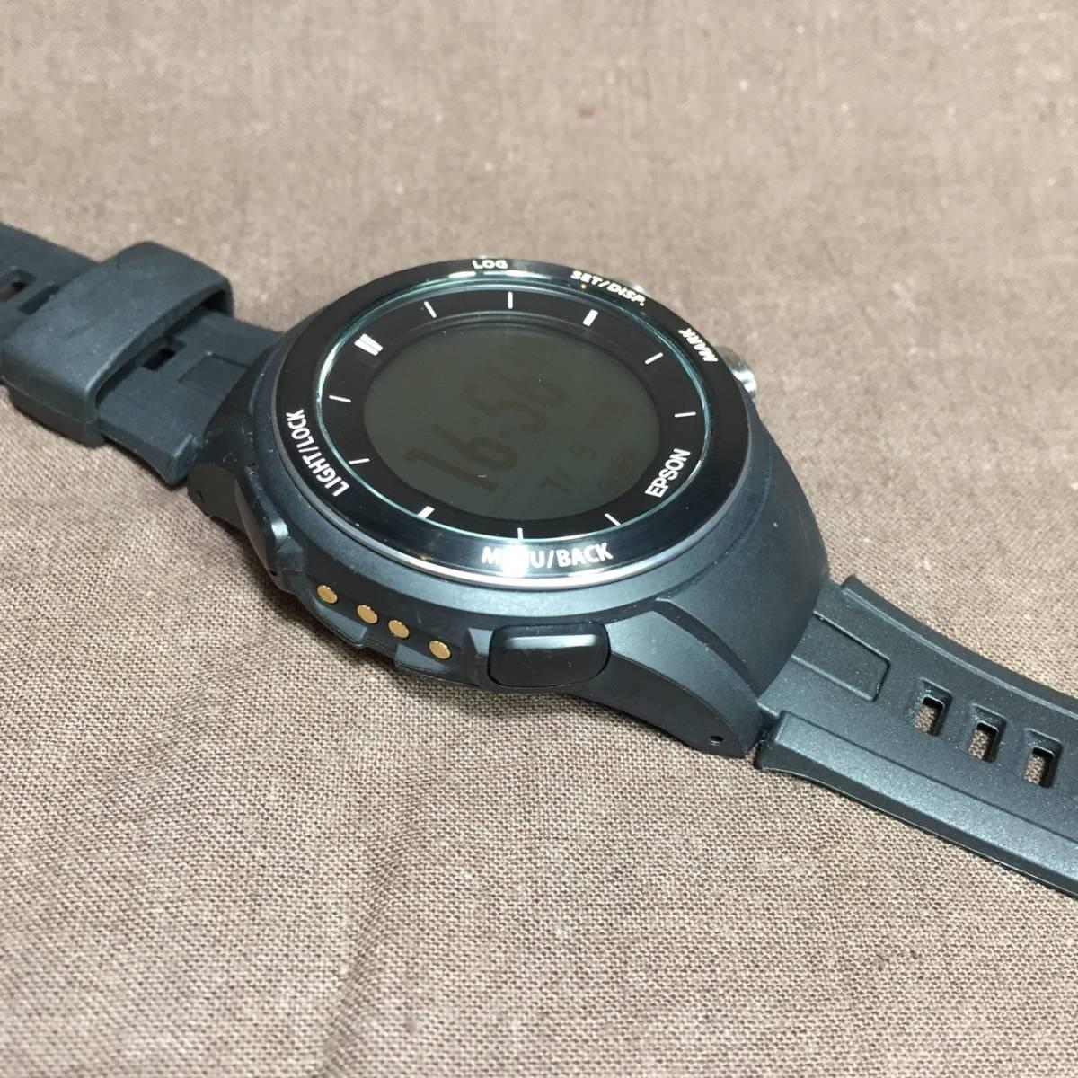 送料込即決/EPSON WristableGPS for Trek MZ-500B GPSトレッキングギア _画像8
