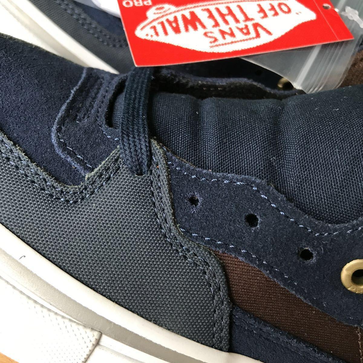 スニーカー VANS ハーフキャブプロ 25cm(US7)Dress Blues バンズ スケーターシューズ インディペンデント コラボモデル_画像5