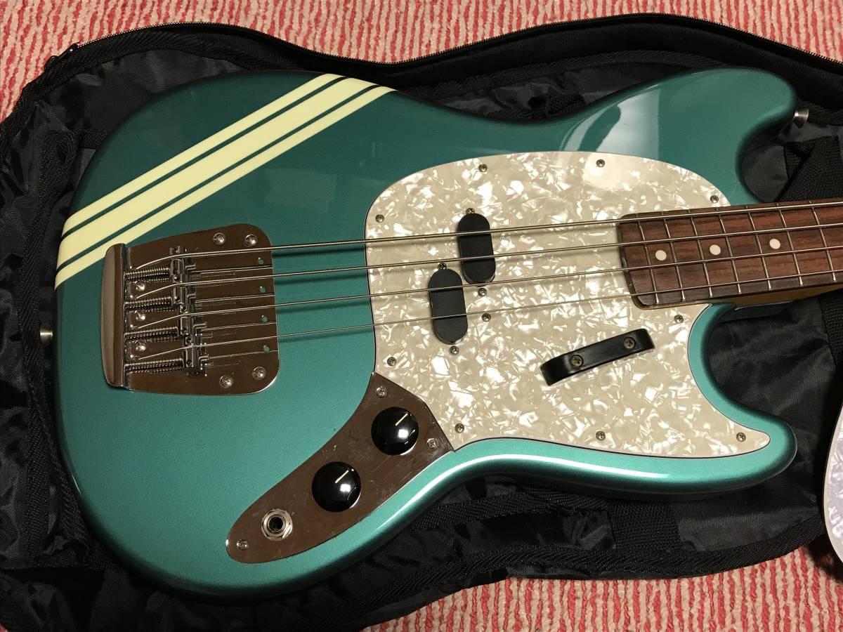 【中古】Fender Japan MUSTANG BASS Competition Line _画像2