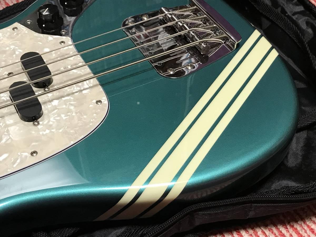 【中古】Fender Japan MUSTANG BASS Competition Line _画像3
