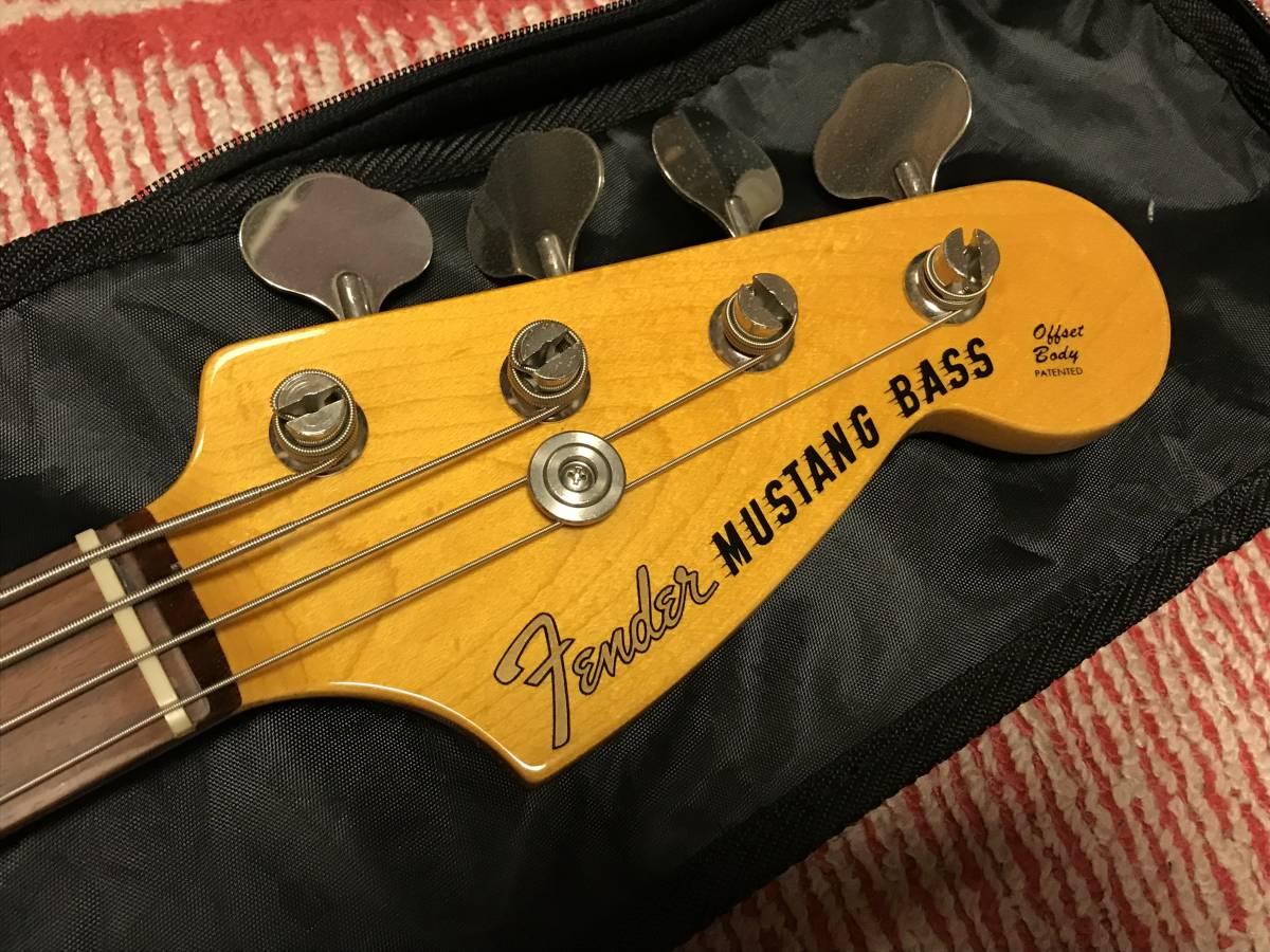 【中古】Fender Japan MUSTANG BASS Competition Line _画像6