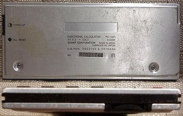 SHARP PC-1401 ポケットコンピュータ 本体のみ ジャンク 送料無料_画像2