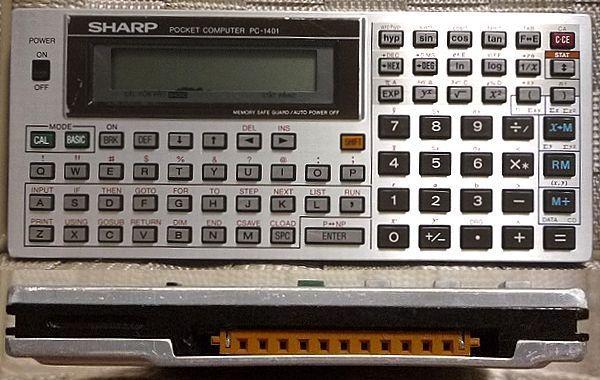 SHARP PC-1401 ポケットコンピュータ 本体のみ ジャンク 送料無料_画像1
