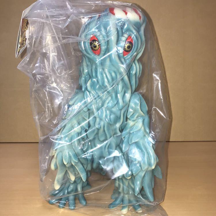 マルサン ヘドラ 450 潮風 ブルー&GID 蓄光 ゴジラ ソフビ フィギュア marusan Godzilla HEDORAH Marble Finish_画像1
