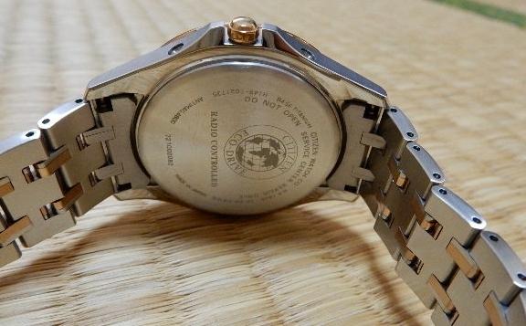 [中古] ソーラー電波腕時計・シチズン・エクシード(CB1084-51A)_画像4