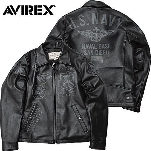AVIREX(アヴィレックス)US NAVY シープスキン トラッカージャケットM_画像3