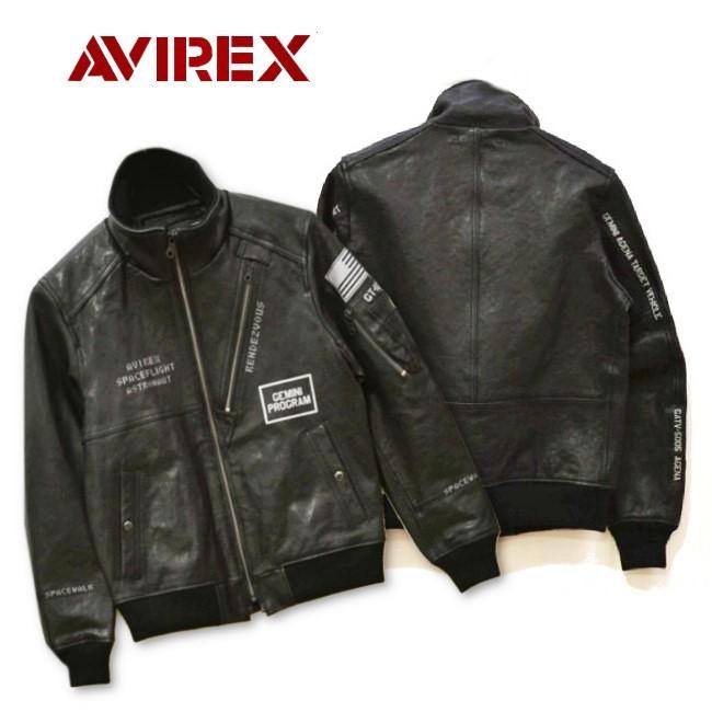AVIREX(アヴィレックス)GT-10 ラムスタンドジップフライトジャケットL緑/サンプル品_画像3