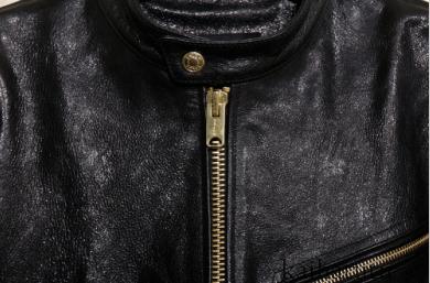 上級絶品!高貴気質 アメリカンカジュアル 輸入クリスタル馬革 ライダース メンズ 本革レザーウエア 立ち襟レザージャケット サイズ選択可_画像6