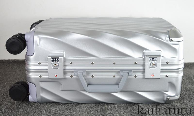 最高品質※EU基準※アルミフレーム合金製・軽量/静音・TSAロック搭載スーツケース・キャリーケース※機内持ち込可 /20インチ