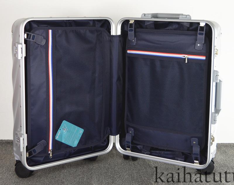 最高品質※EU基準※アルミフレーム合金製・軽量/静音・TSAロック搭載スーツケース・キャリーケース※機内持ち込可 /20インチ_画像6