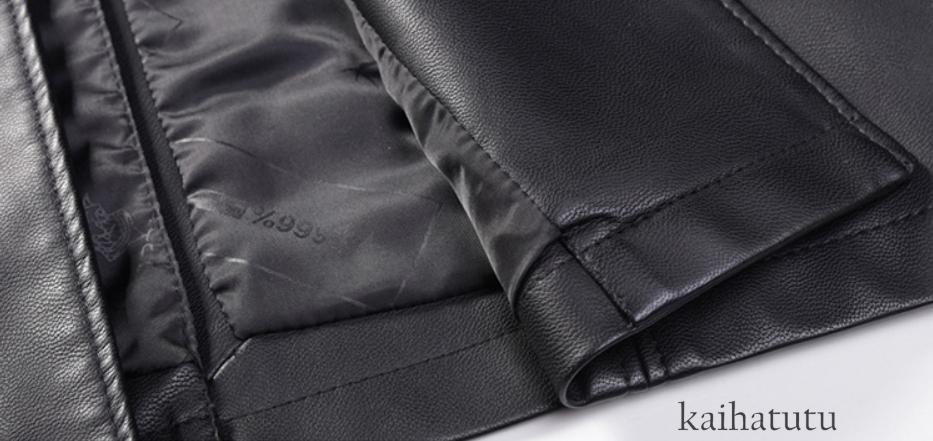 稀少!高品質★羊の皮100%スーツ 中長 皮革製服 紳士用レザージャケット メンズレザーウェア ビジネス ジャケット サイズ選択可_画像6