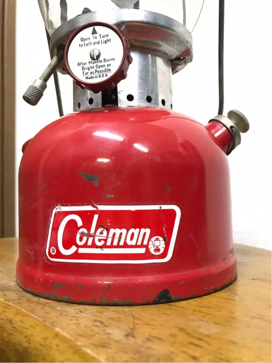 1971年1月製造 ビンテージ Coleman コールマン 200A ランタン 後期 点火 動作確認 キャンプ アウトドア 美品_画像3
