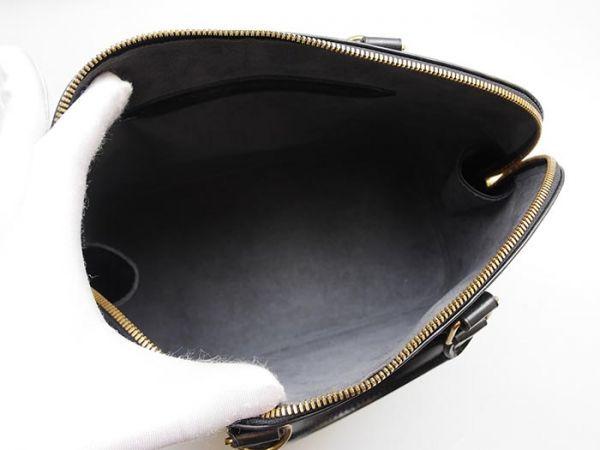 ■【極美品】ルイヴィトン Louis Vuitton アルマ ハンドバッグ エピ ノワール 定価約17万_画像8