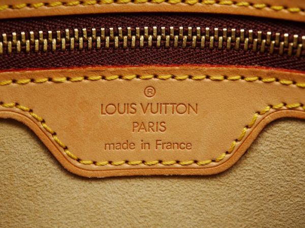 ■【極美品】LOUIS VUITTON ルイヴィトン モノグラム ルーピングMM ショルダーバッグ かばん レディース 定価約12万_画像10
