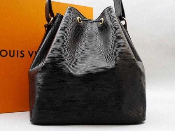 ■【使用わずか】ルイヴィトン Louis Vuitton エピ プチノエ 極美品 ショルダーバッグ ノワール 定価約13万_画像2