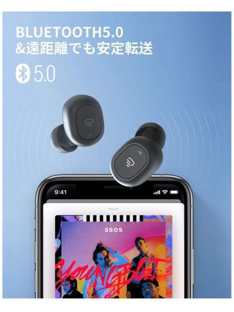Dudios zeus ace 完全ワイヤレスイヤホン Bluetooth 5.0 TWS btway sb-23 マイク イヤホン soundpeatsのTruefree+マイナーチェンジ版か?_画像4
