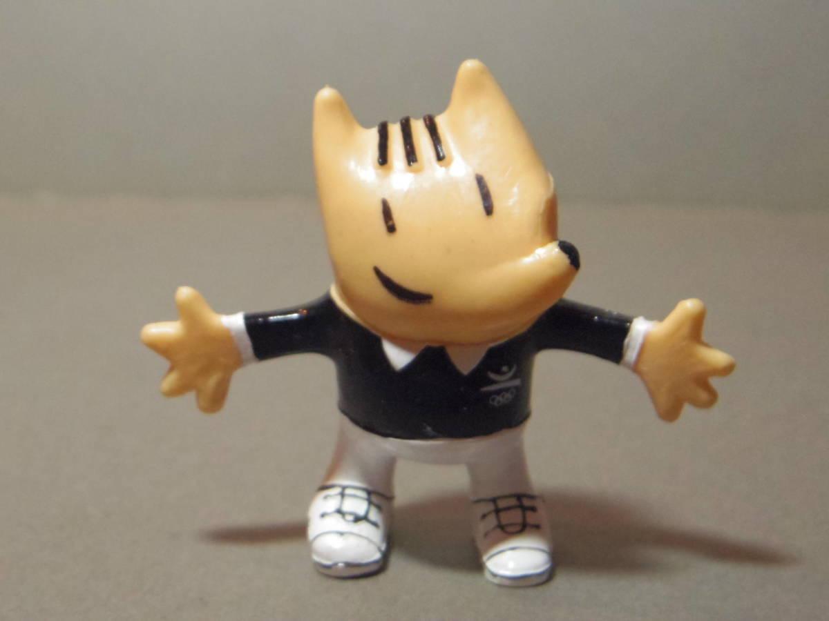 1992年 バルセロナオリンピック マスコットキャラクター コビー PVCフィギュア 審判_画像1