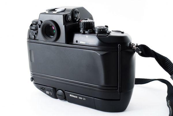 ◆AB (良品)ニコン Nikon F4S ボディ + MB-21 外観綺麗です/471772_画像7