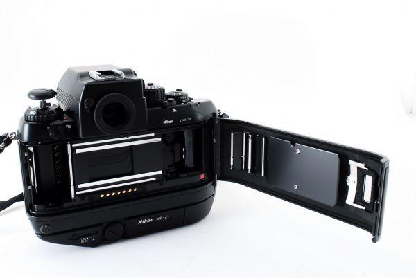 ◆AB (良品)ニコン Nikon F4S ボディ + MB-21 外観綺麗です/471772_画像10