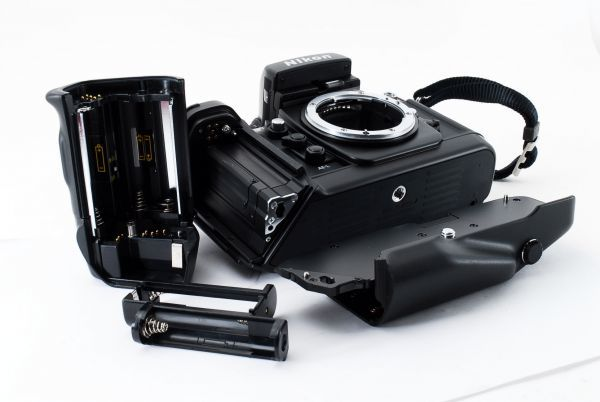 ◆AB (良品)ニコン Nikon F4S ボディ + MB-21 外観綺麗です/471772_画像8