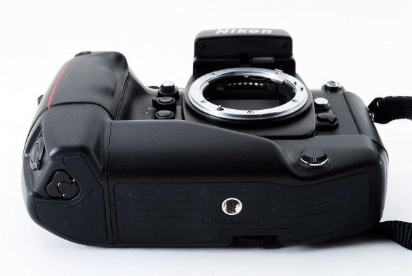 ◆AB (良品)ニコン Nikon F4S ボディ + MB-21 外観綺麗です/471772_画像5