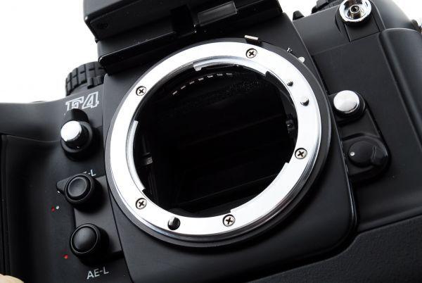 ◆AB (良品)ニコン Nikon F4S ボディ + MB-21 外観綺麗です/471772_画像9