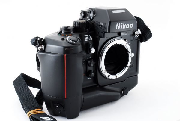 ◆AB (良品)ニコン Nikon F4S ボディ + MB-21 外観綺麗です/471772_画像6
