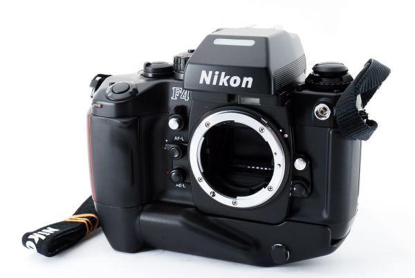 ◆AB (良品)ニコン Nikon F4S ボディ + MB-21 外観綺麗です/471772