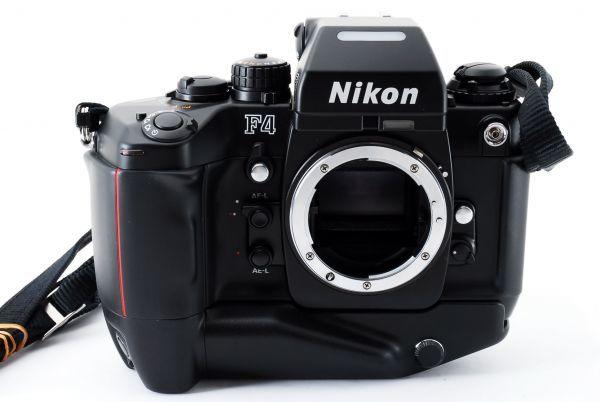 ◆AB (良品)ニコン Nikon F4S ボディ + MB-21 外観綺麗です/471772_画像2