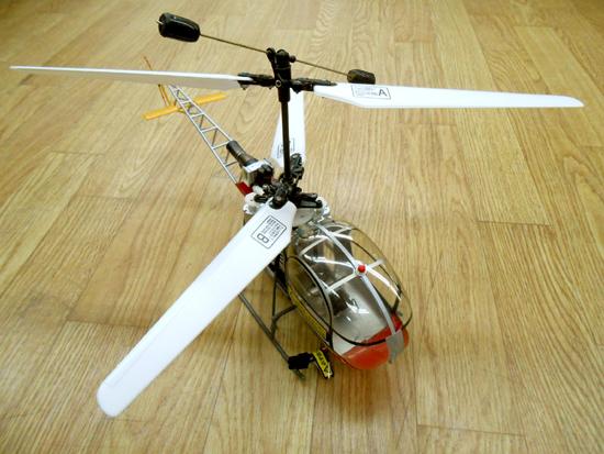 ■ヒロボー XRB SR ラマ スカイロボ 同軸反転方式室内用RC電動ヘリ SKY ROBO lama_画像3