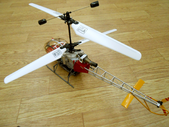 ■ヒロボー XRB SR ラマ スカイロボ 同軸反転方式室内用RC電動ヘリ SKY ROBO lama_画像5