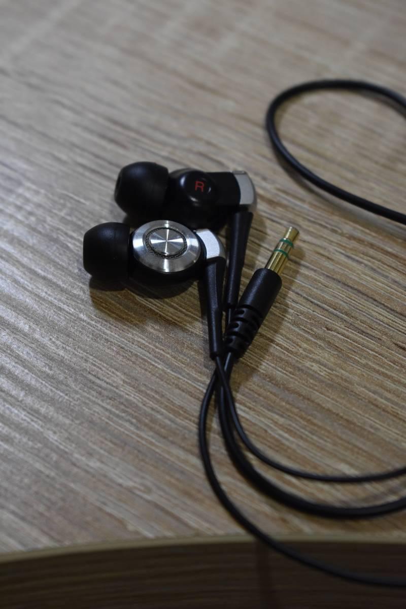 SONY kana ru type earphone MDR-EX500SL/B( super-beauty goods )