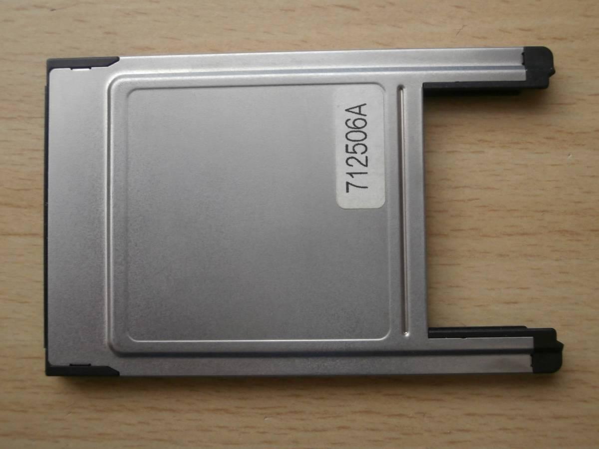 PCカード コンパクトフラッシュ アダプタ CF 変換_画像2