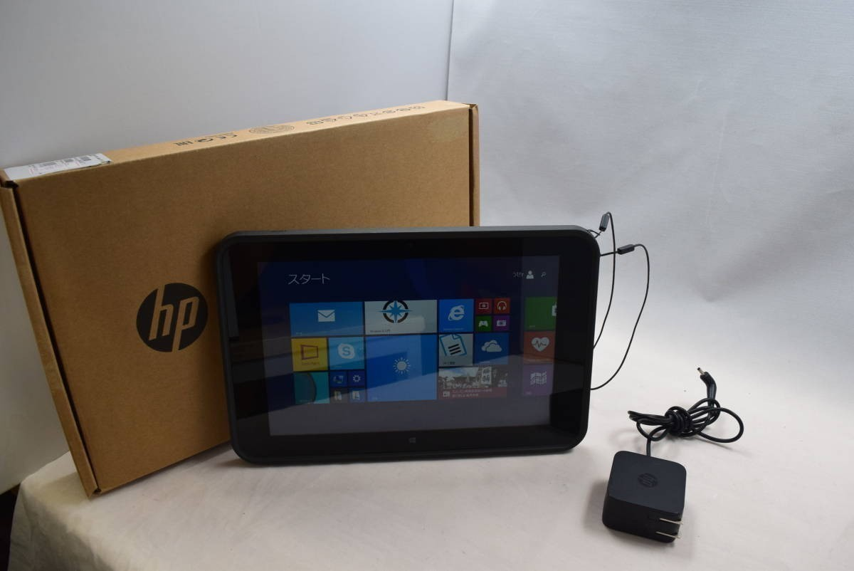 ★HP Pro Tablet 10 EE G1 Atom-1.33 RAM 2GB SSD 64GB Win8★中古★12