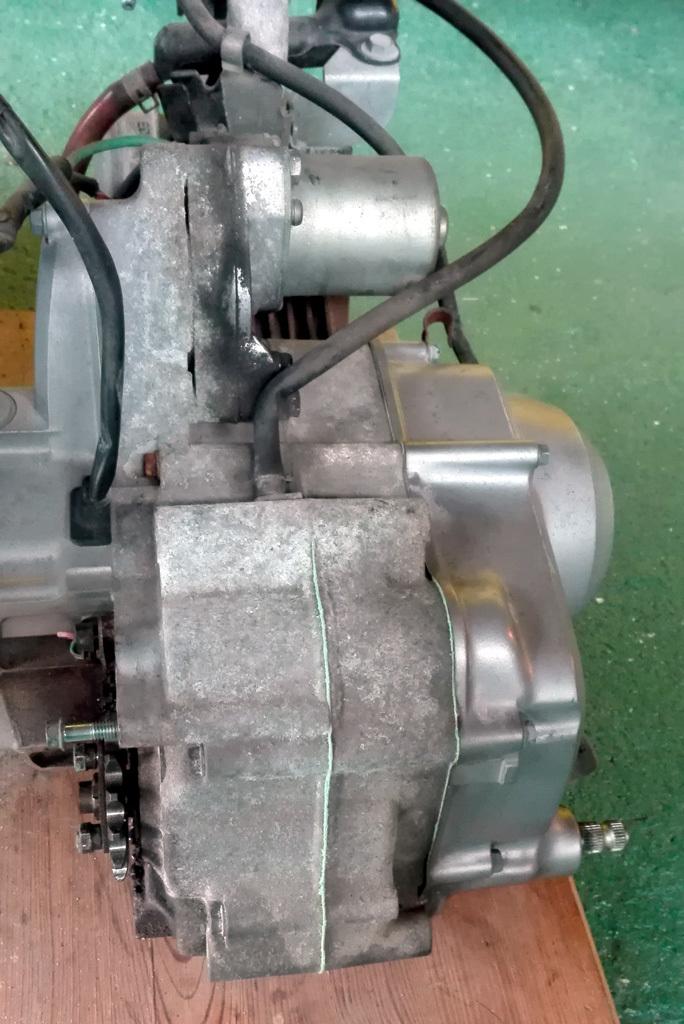 リトルカブ 4速セル付きエンジン+キャブ カブ・モンキー系に 走行12000km 1円スタート!_画像7